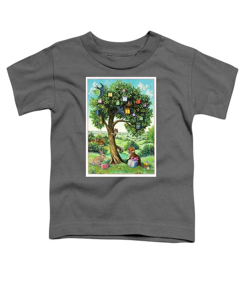 Where Birthday Presents Come From Toddler T-Shirt