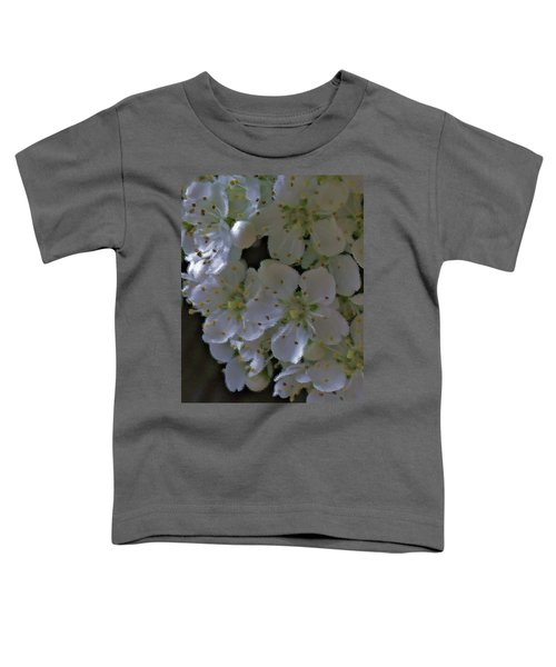 White Blooms Toddler T-Shirt