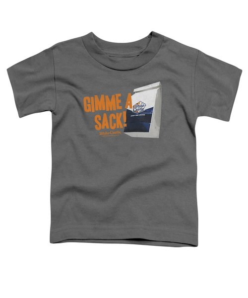 White Castle - Gimmie A Sack Toddler T-Shirt by Brand A