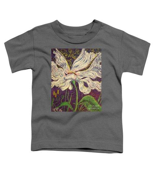White Flower Series 6 Toddler T-Shirt