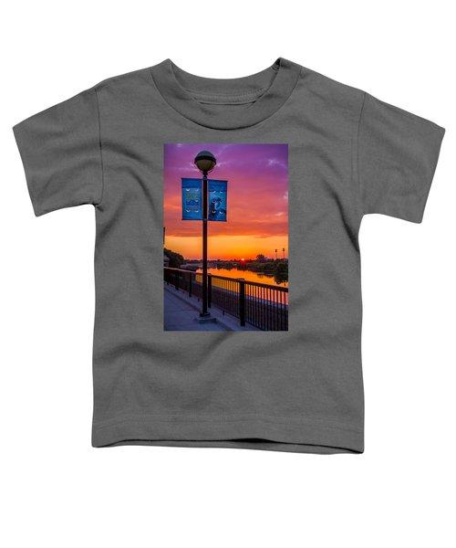 White River Sunset Toddler T-Shirt