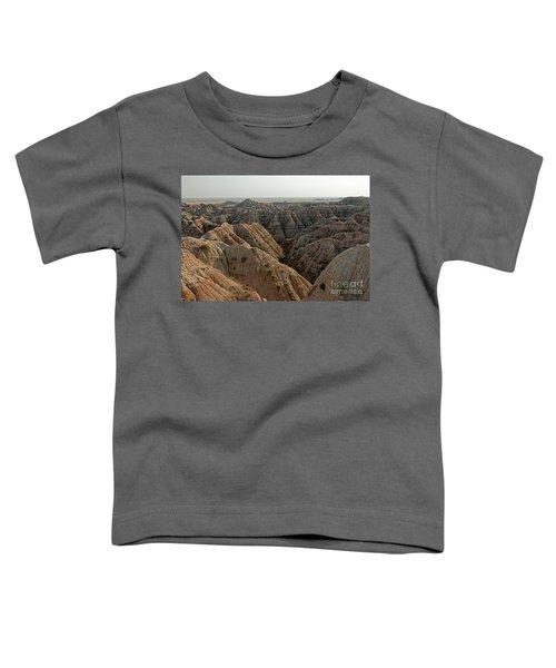 White River Valley Overlook Badlands National Park Toddler T-Shirt