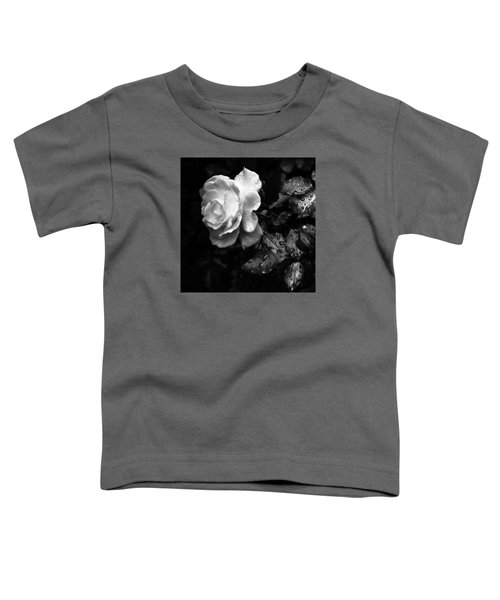 White Rose Full Bloom Toddler T-Shirt