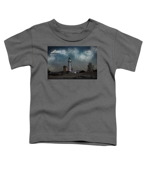 Whitefish Point Lighthouse Lake Superior Toddler T-Shirt