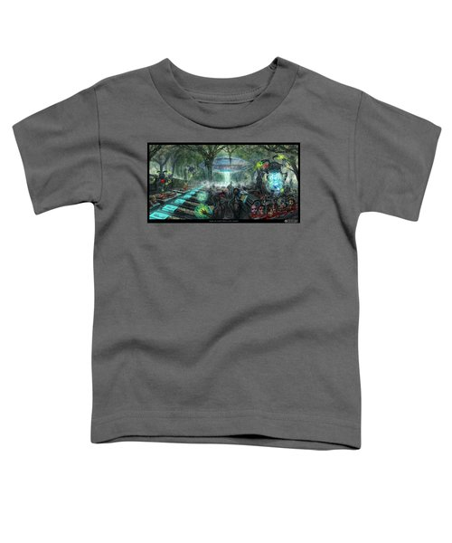Who Is Controlling Who Toddler T-Shirt
