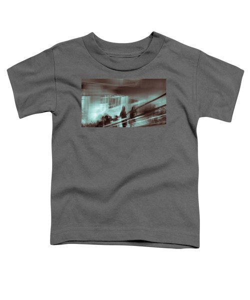 Toddler T-Shirt featuring the photograph Why Walk When You Can Ride by Alex Lapidus