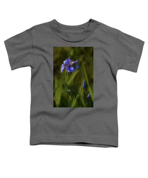 Wild Alaskan Iris Toddler T-Shirt