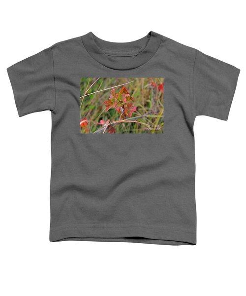 Wild Gooseberry Leaves Toddler T-Shirt