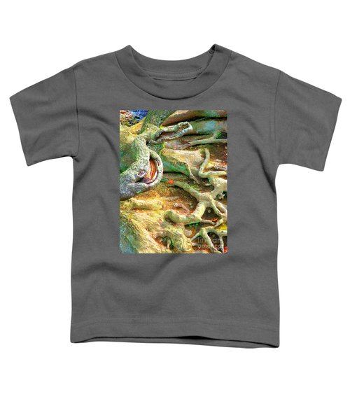 Wild Roots By Christopher Shellhammer Toddler T-Shirt