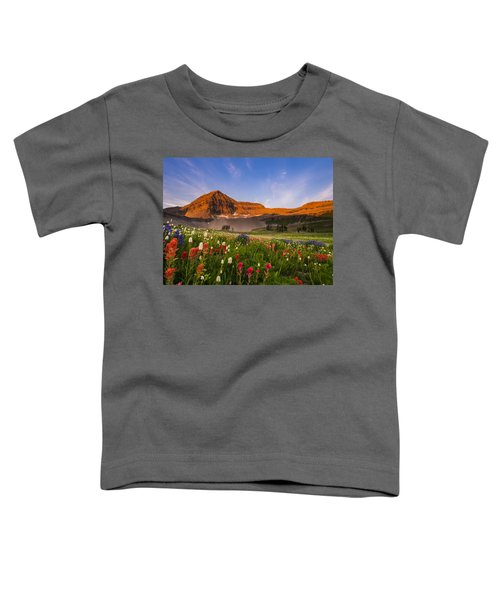 Wildflowers In Bloom Toddler T-Shirt