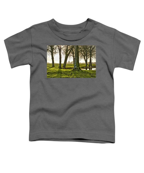 Windmill And Trees In Groningen Toddler T-Shirt