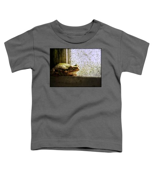 Windowsill Visitor Toddler T-Shirt