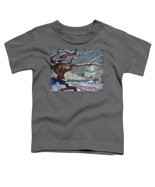 Winter's Day Toddler T-Shirt