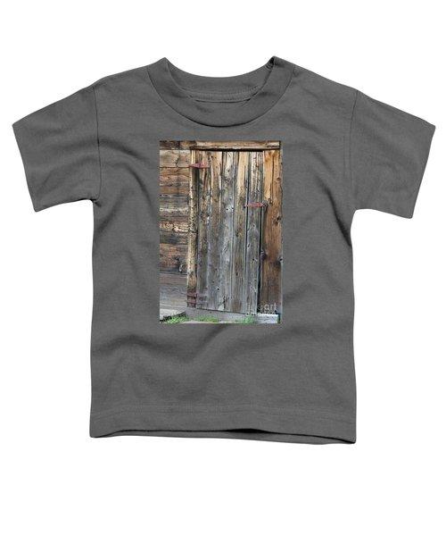 Wood Shed Door Toddler T-Shirt