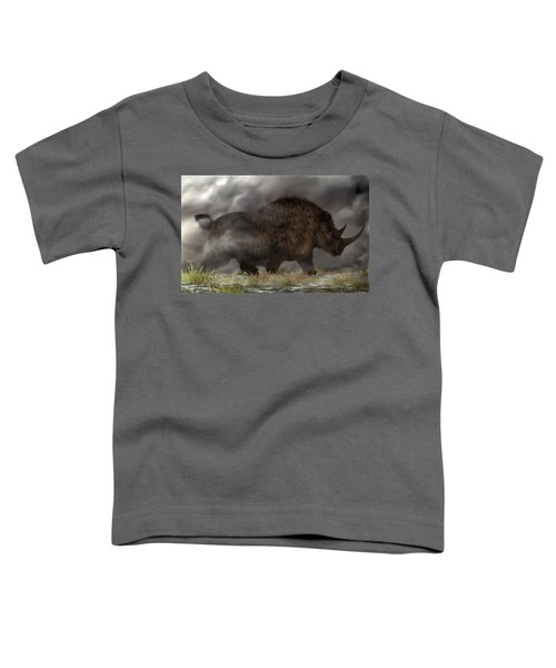 Woolly Rhinoceros Toddler T-Shirt