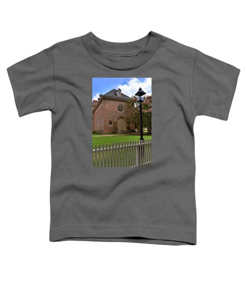 Wren Chapel At William And Mary Toddler T-Shirt