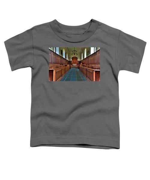 Wren Chapel Interior Toddler T-Shirt