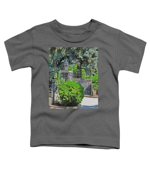 Wrought Iron Gate Toddler T-Shirt