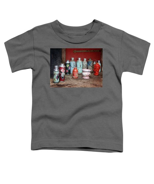 Yak Butter Thermoses Toddler T-Shirt