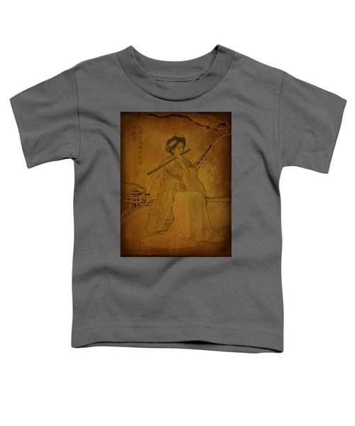 Yang Plays The Flute Toddler T-Shirt