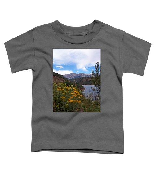 Yellow Flowers  Toddler T-Shirt
