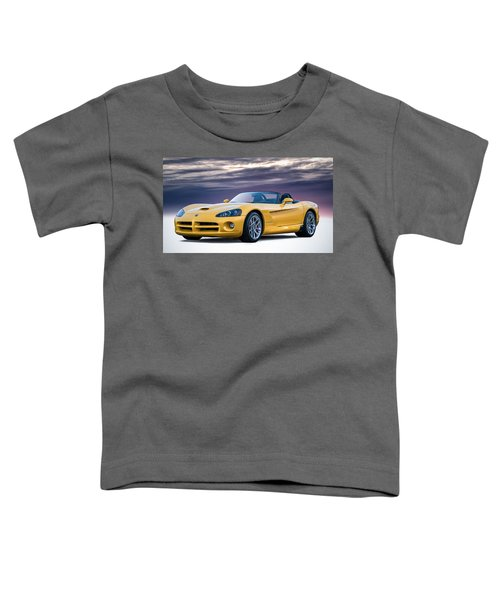 Yellow Viper Convertible Toddler T-Shirt