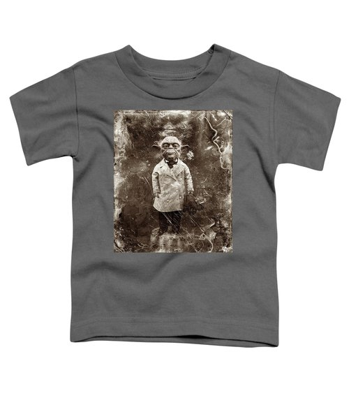 Yoda Star Wars Antique Photo Toddler T-Shirt