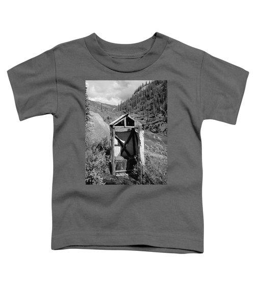 Yukon Alaska Outhouse Toddler T-Shirt