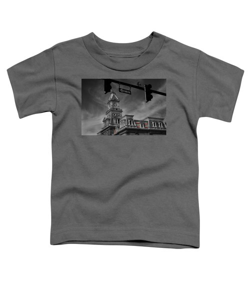 Zanesville Oh Courthouse Toddler T-Shirt