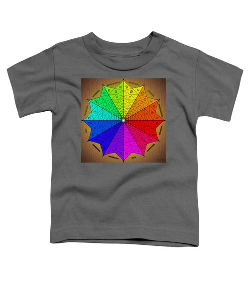 Zodiac Color Star Toddler T-Shirt