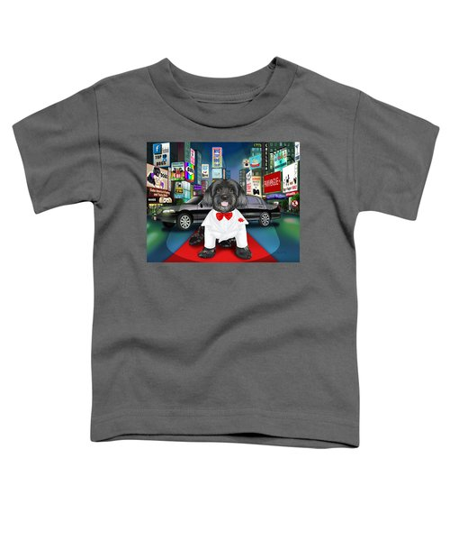 Sir Cuba Of Chelsea In Times Square Nyc Toddler T-Shirt
