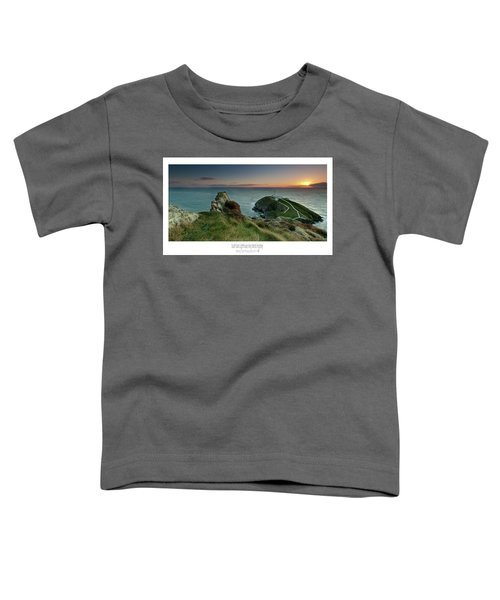 Sunset At South Stack Lighthouse Toddler T-Shirt