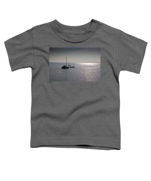 Boats Moored Off Of Leigh Essex Toddler T-Shirt
