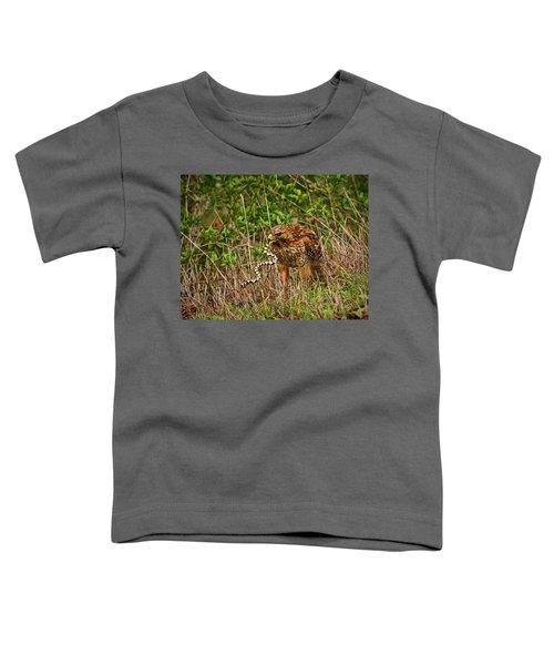 Hawk And Snake Toddler T-Shirt