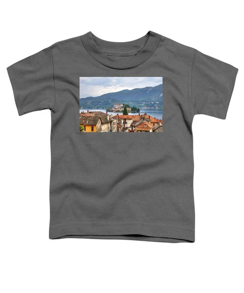 Orta - Overlooking The Island Of San Giulio Toddler T-Shirt