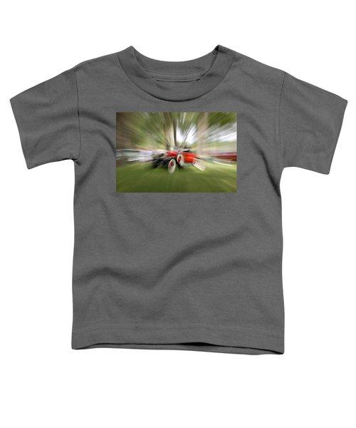 Red Antique Car Toddler T-Shirt