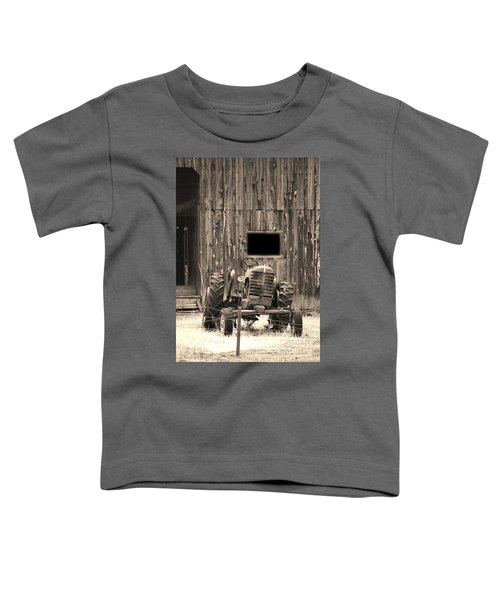 Tractor And The Barn Toddler T-Shirt