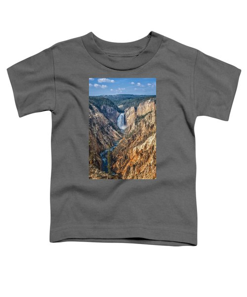 Yellowstone Lower Falls Toddler T-Shirt