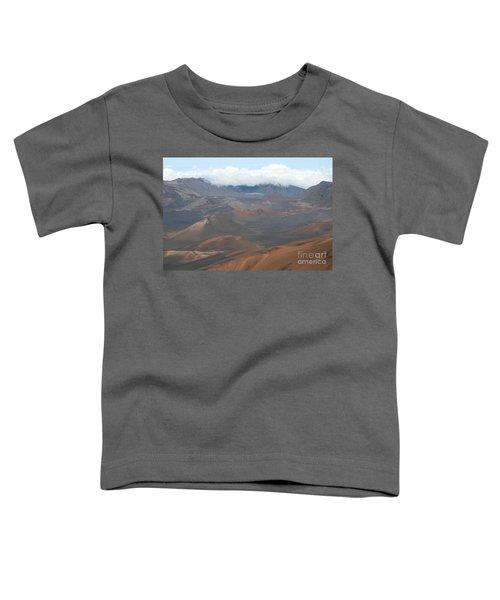 Haleakala Volcano Maui Hawaii Toddler T-Shirt by Sharon Mau