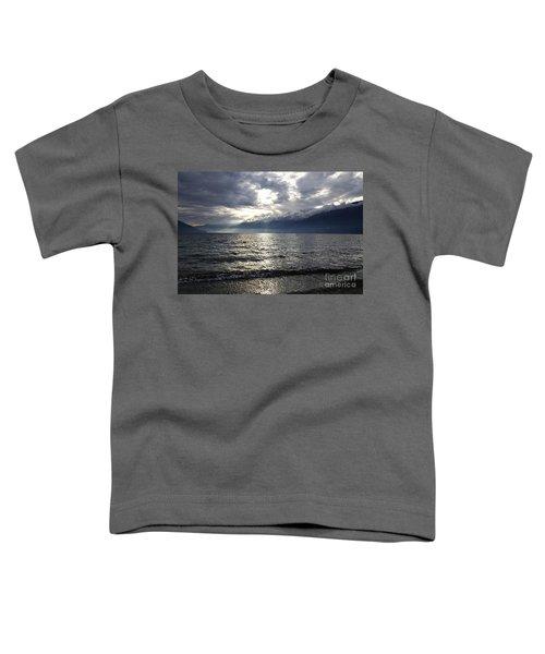 Sunlight Over A Lake Toddler T-Shirt