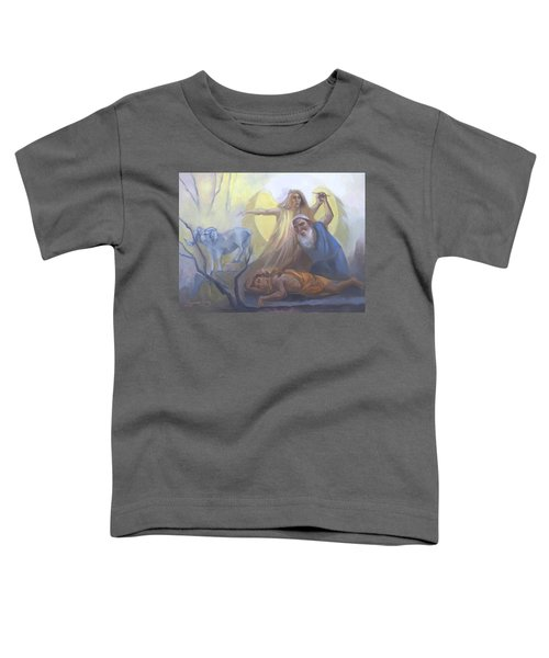 Abraham And Issac Test Of Abraham Toddler T-Shirt