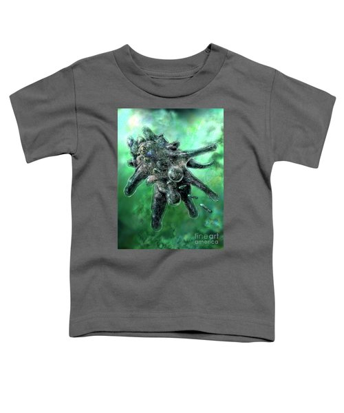 Amoeba Green Toddler T-Shirt