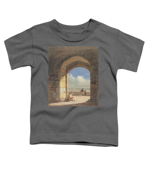 An Arch At Holy Island - Northumberland Toddler T-Shirt