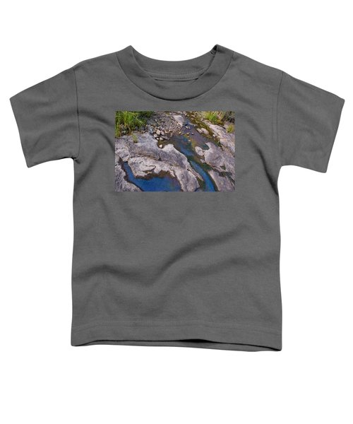 Toddler T-Shirt featuring the photograph Another World II by Joanne Smoley