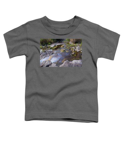 Toddler T-Shirt featuring the photograph Another World Vi by Joanne Smoley