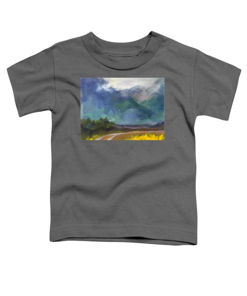 At The Feet Of Giants Toddler T-Shirt
