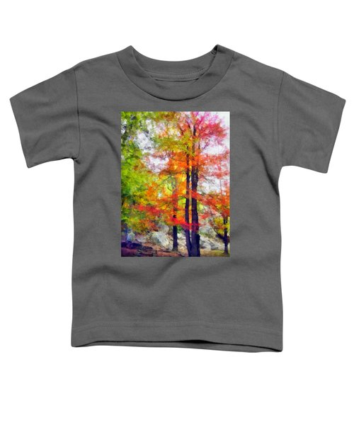 Autumnal Rainbow Toddler T-Shirt