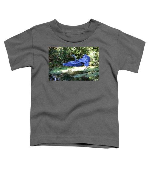 Big Blue In Flight Toddler T-Shirt