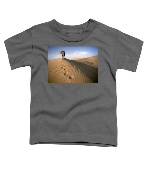 Blue Man Tribe Of Saharan Traders With Toddler T-Shirt