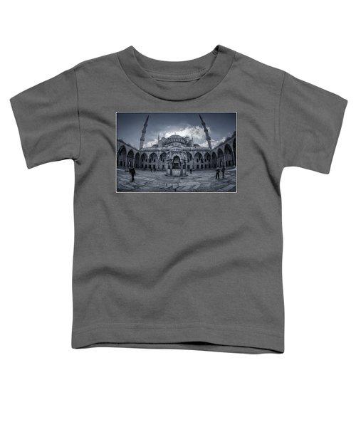 Blue Mosque Courtyard Toddler T-Shirt